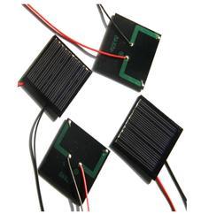 0.25W 5V DIY solar panels Dijiao board then electronic wire