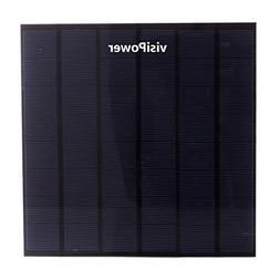visiPower 4W 5V 0.9A Universal Portable Solar Panel Sunpower