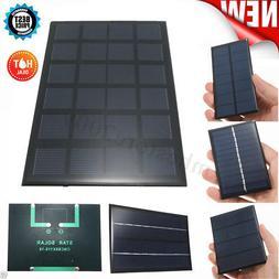 1/1.5/3.5/4/5/5.5/6/9/12v Mini Pocket Solar Panel Module DIY