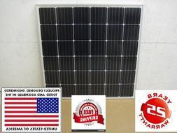 1- 200+25% Watt 12 Volt Battery Charger Solar Panel Off Grid