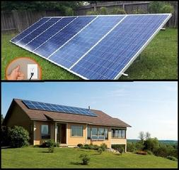 1.5KW PluggedSolar with 1500Watt Crystalline Solar Panels an