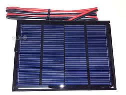 1.5W 12V Mini Power Solar Panel DIY Small Cell Module Charge