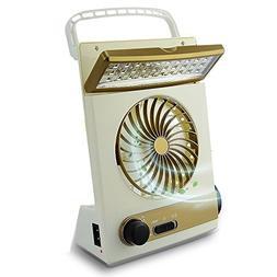 Coolly 3 in 1 Desktop Cooling Fan & Eye-Care LED Table Lamp