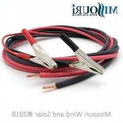 1 Pair Charge Controller to Battery Connection Cables with A