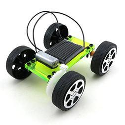Lookatool 1 Mini Solar Powered Toy DIY Car Kit Children Educ