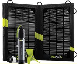 Goal Zero 10 Solar Panel Recharging Kit USB Portable Flashli