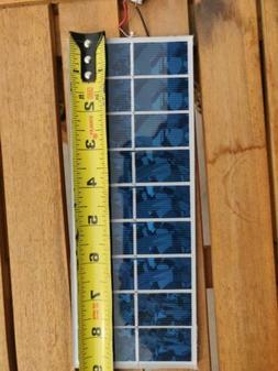 10 SOLAR PANELS Sunstream 5V/3W each w/USB connect  for DIY