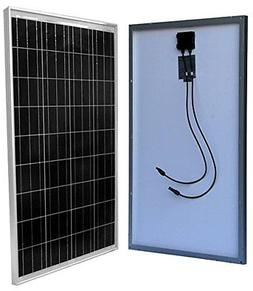 WindyNation 100 Watt 100W Solar Panel for 12 Volt Battery Ch