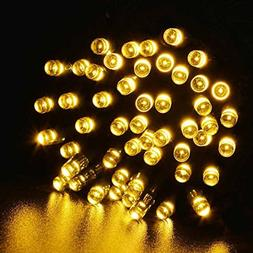 Rong 100 LED Outdoor Solar Powered String Light Christmas Pa
