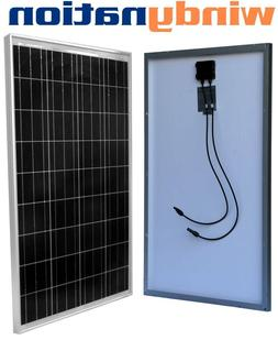 100 Watt 100W 12V 12 Volt Slim Solar Panel Battery RV Boat C