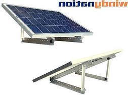 100 Watt 100W 12V 12 Volt Solar Panel Battery Charger + Adju