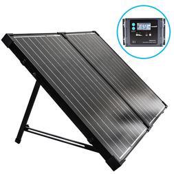 Renogy 100 Watt 12 Volt Monocrystalline Foldable Solar Suitc