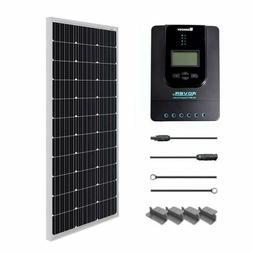 Renogy 100 Watt 12 Volt Monocrystalline Solar Starter Kit Wi