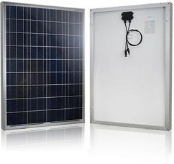 Renogy 100-Watt 12-Volt Polycrystalline Solar Panel for RV B