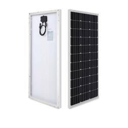 Renogy 100 Watt 12 Volt Solar Panel Great For RVs, Campers,
