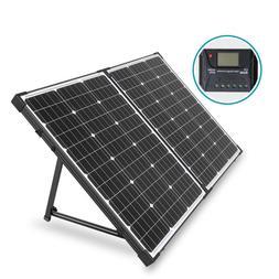 HQST 100 Watt 12Volt Off Grid Monocrystalline Portable Folda