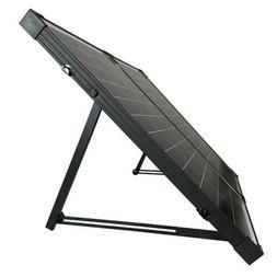 HQST 100 Watt 12Volt Polycrystalline Foldable Solar Panel Su