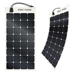 SunPower 100 Watt Flexible Monocrystalline High Efficiency S