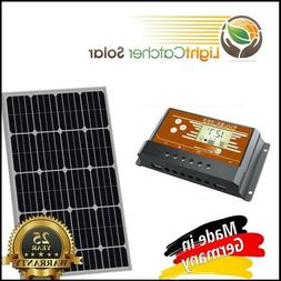 100 Watt Mono Solar Panel Kit with Charge Controller 100W 12