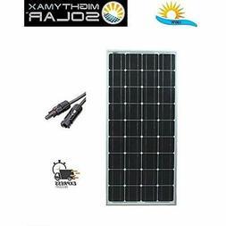 Mighty Max Battery 100 Watt Monocrystalline Solar Panel Bran