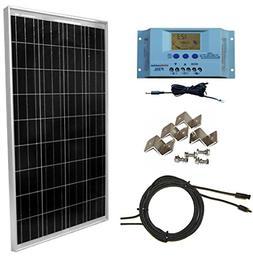 Windy Nation 100 Watt Solar Panel Complete Off-Grid RV Boat
