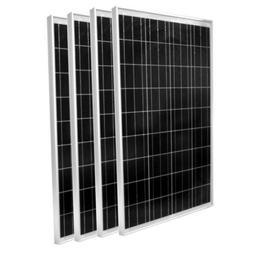 100 Watt Solar Panel Polycrystalline Weatherproof Outdoor Re