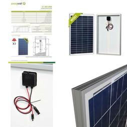 100 watts 12 volts polycrystalline solar panel
