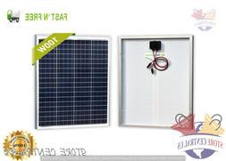Newpowa 100 Watts 12 Volts Polycrystalline Solar Panel
