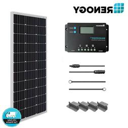 Renogy 100 Watts 12V Monocrystalline Solar Starter Kit 10A P