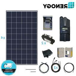 Renogy 1000W 12V Solar Panel Cabin Kit 1000 Watt Off Grid PV