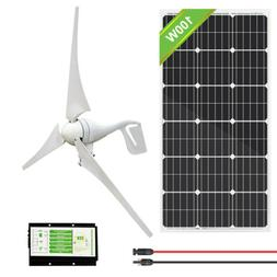 DC12V 400W Wind Turbine Generator + 20A Charge Controller +1