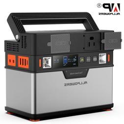 100500mAh 372Wh Solar Portable Generator Power System Energy