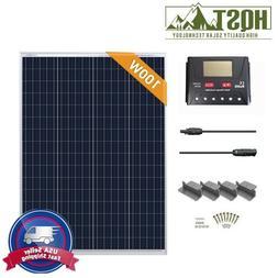 100W Solar Panel + 30A Controller Off Grid Solar Kit 12V Bat