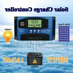 100A MPPT Solar Panel Regulator Charge Controller 12V/24V Au