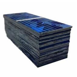 100pcs 0.5V 320mA Solar Battery Panels Cell DIY Battery Char