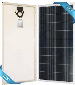 100w 120w 160w watt Solar Panel 12V Poly Off Grid Battery Ch