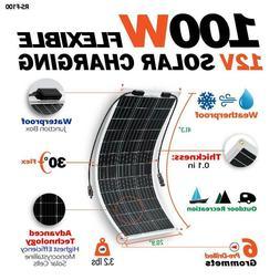 RICH SOLAR 50W 80W 100W Mono Flexible Solar Panel 12V PV Pow