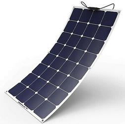 ALLPOWERS 100W 18V 12V Bendable Solar Panel Charger Water/ S