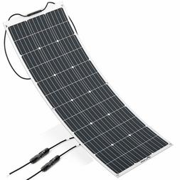 Allpowers 100W 18V 12V Flexible Solar Panel Charger Monocrys