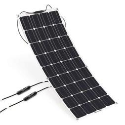 ALLPOWERS 100W 18V 12V Solar Panel Charger City Lightweight