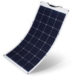 SUAOKI 100W 18V 12V Solar Panel Charger Monocrystalline Flex
