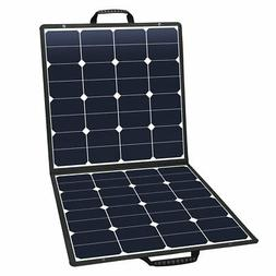 Suaoki 100W 18V 12V Solar Panel Charger SunPower Cell Portab