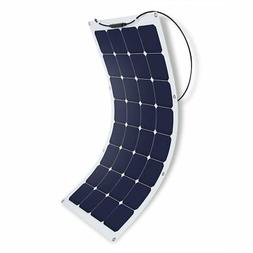 Suaoki 100W 18V 12V Solar Panel Charger SunPower Cell Ultra