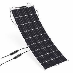 ALLPOWERS 100W 18V 12V Solar Panel Kit Charger Monocrystalli