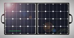 Suaoki 100W Briefcase Solar Panel 18V Charger Yeti Power Sta