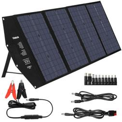 Suaoki 100W 18V Solar Panel Battery Charger Power Bank Porta