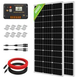 100W 200W 400W 600W 1KW Complete Solar Panel Kit High Effici