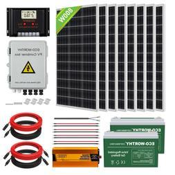 100W 200W 300W 400W 500W 600W 1KW Solar Panel System For RV