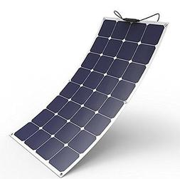 ALLPOWERS 100W Bendable Solar Panel Charger Water/ Shock/ Du