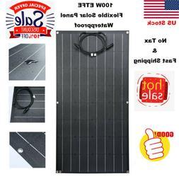 100w etfe flexible solar panel 18v solar